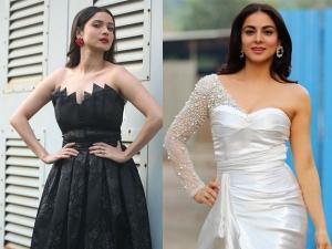 Ankita Lokhande And Shraddha Arya In Gowns At Zee Rishtey Awards