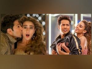 Sara Ali Khan And Varun Dhawan S Stunning Looks From Husnn Hai Suhaana New Song