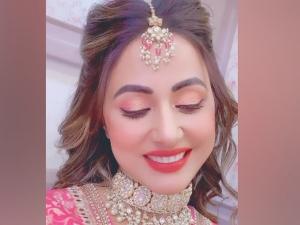 Hina Khan Aka Akshara Gives Wedding Goals With Her Latest Make Up Look