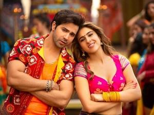 Varun Dhawan And Sara Ali Khan In Coolie No 1 S Mummy Kassam Song