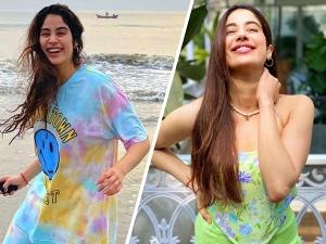 Gunjan Saxena Actress Janhvi Kapoor S Pretty Outfits From Instagram