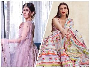 Aditi Rao Hydari And Radhika Madan Give Wedding Fashion Goals In Lehengas
