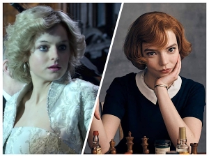 Hair Goals From Princess Diana Of The Crown And Beth Harmon Of The Queen S Gambit