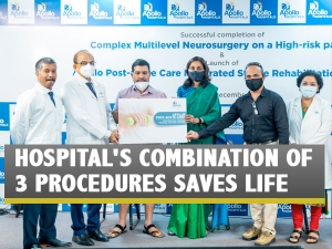 Ischemic Stroke Patient Saved By Apollo Hospital