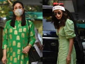 Kareena Kapoor Khan And Alia Bhatt S Green Outfits On Instagram