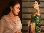 Amruta Khanvilkar Regina Cassandra And Other Divas In Traditional Outfits