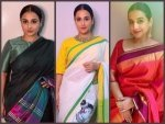 Shakuntala Devi Actress Vidya Balan S Pretty Sarees On Her Birthday