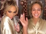Jennifer Lopez Makeup Free Video On Instagram