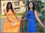 Shweta Tiwari Flaunts Blue And Yellow Dresses On Instagram