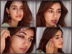Radhe Actress Disha Patani S Dewy No Makeup Makeup Look Tutorial Video On Youtube