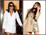 Priyanka Chopra Huma Qureshi And Other Divas In Blazer Dresses