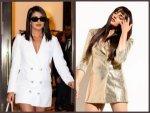 Priyanka Chopra Huma Qureshi And Other Divas In Blazer Dresses
