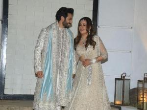 Varun Dhawan And Natasha Dalal S Wedding Outfits And Pictures