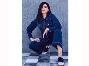 Kirti Kulhari S Denim Outfit On Instagram