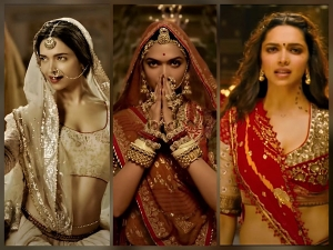 Deepika Padukone S Regal Looks From Ram Leela Bajirao Mastani And Padmaavat