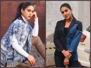 Atrangi Re Actress Sara Ali Khan Gives Winter Fashion Goals