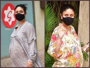 Kareena Kapoor Khan Gives Maternity Fashion Goals In Her Printed Dresses