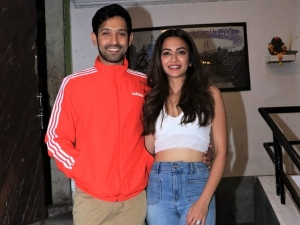 Kriti Kharbanda And Vikrant Massey In Chic Outfits At 14 Phere Wrap Up Party