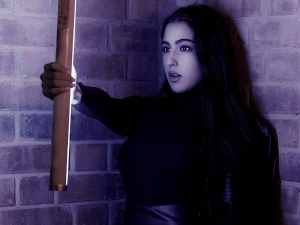 Atrangi Re Actress Sara Ali Khan S Latest Photoshoot In Leather Outfit