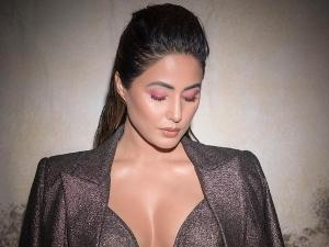 Hina Khan S Bright Pink Eye Makeup Look At Times Power Women Award