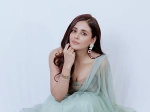 Butterfly Actress Parul Yadav S Sea Green Tulle Lehenga On Instagram