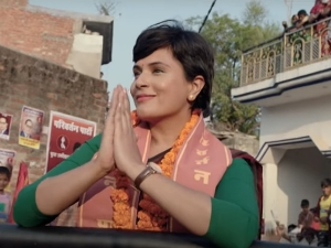 Richa Chadha S Politician Look From Madam Chief Minister Trailer