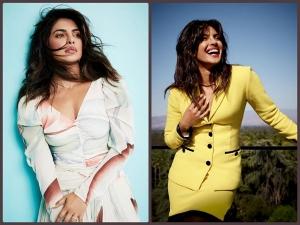 Priyanka Chopra Jonas Fashion For The White Tiger Promotions On Netflix
