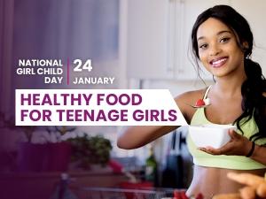 Healthy Food For Teenage Girls
