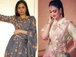 Ankita Lokhande And Shweta Tiwari S Look In Their Dhoti Saree On Instagram