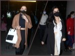 Shraddha Kapoor And Parineeti Chopra Flaunt Style In Long Overcoat At Airport