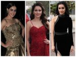 Shraddha Kapoor Genelia D Souza And Waluscha De Sousa In Gowns For Indian Pro Music League