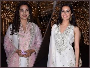 Shraddha Kapoor Juhi Chawla And Others At Priyaank Sharma And Shaza Morani S Wedding
