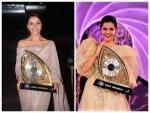 Bigg Boss 14 Winner Rubina Dilaik Stuns In A Sequin Gown And Saree
