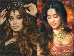 Janhvi Kapoor Sports Dual Avatar In The Song Panghat From Roohi Film