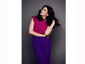 Kirti Kulhari S Bold Hued Outfit For The Girl On The Train Promotions
