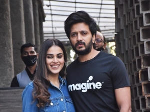 Riteish Deshmukh And Genelia D Souza Give Couple Fashion Goals In Denims
