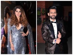 Bigg Boss 14 Finalists Rahul Vaidya Nikki Tamboli And Others In Chic Outfits