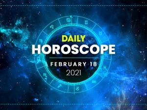 Daily Horoscope For 18 February