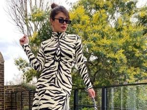 Priyanka Chopra Jonas The White Tiger Outfit As She Twins With Her Dog