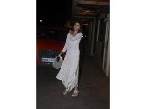 Tara Sutaria S White Suit Look On Her Instagram