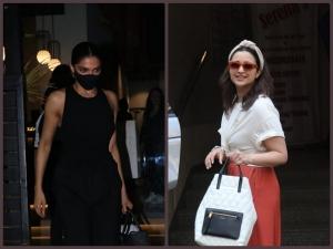 Parineeti Chopra And Deepika Padukone S Simple Outfits