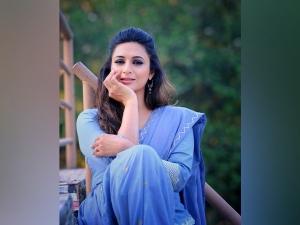 Divyanka Tripathi Dahiya S Blue Suit Look On Instagram