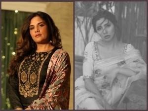 Richa Chadha And Mahira Khan S Traditional Outfit