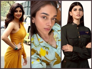 Shilpa Shetty Kundra Sanjana Sanghi And Aditi Rao Hydari S Fashion Roundup