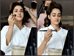 Disha Patani Does Her Own Makeup For A Brand Shoot Shares Video On Instagram