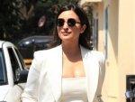 Parineeti Chopra In A White Pantsuit For Saina Trailer Launch Event