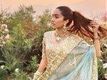 Shraddha Kapoor In A Golden Lehenga For Priyaank And Shaza S Wedding