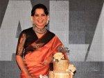 Kangana Ranaut Stuns In A Kanjeevaram Saree For Thalaivi Trailer Launch