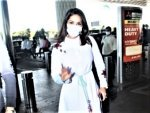 Sunny Leone Gives Summer Goals In A White Dress At The Airport