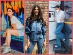 Anushka Sharma Sanjana Sanghi And Gauahar Khan S Latest Look In Denims
